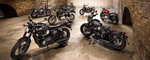 Мотоциклы Триумф