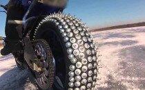 Как шиповать резину на мотоцикле