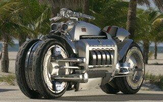 Dodge Tomahawk– мотоцикл бешеных скоростей для безумных людей