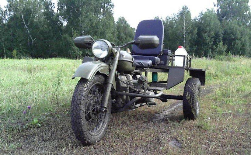 Трицикл из Урала и ВАЗ-2101